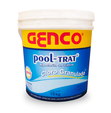Cloro Granulado Pool Trat Genco 10Kg