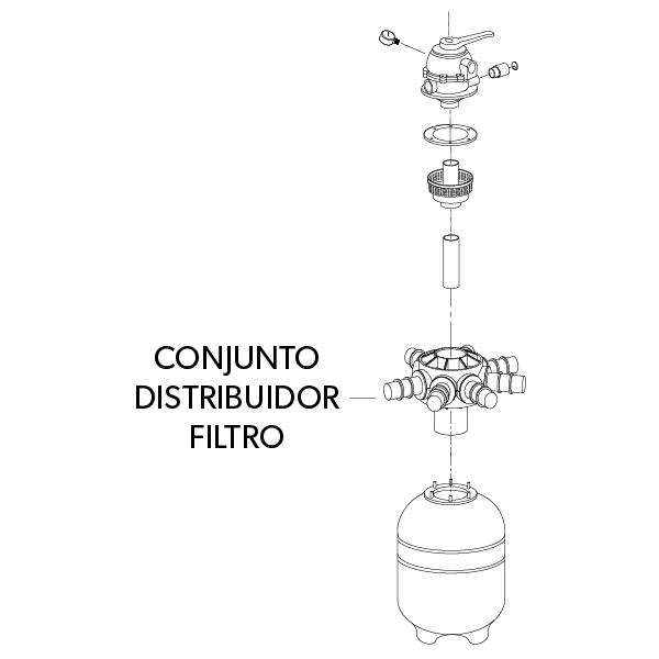 Conjunto Distribuidor Filtro TP