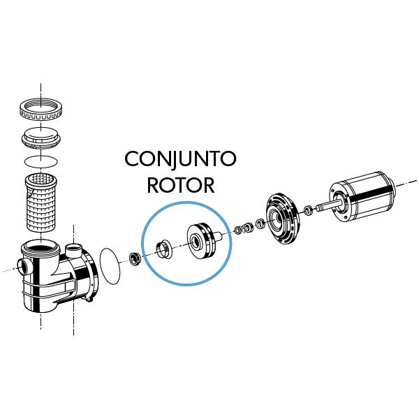 "Conjunto Rotor ""15B"""
