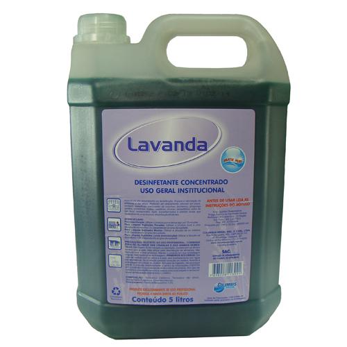 Desinfetante Concentrado Columbus Lavanda 5 Litros