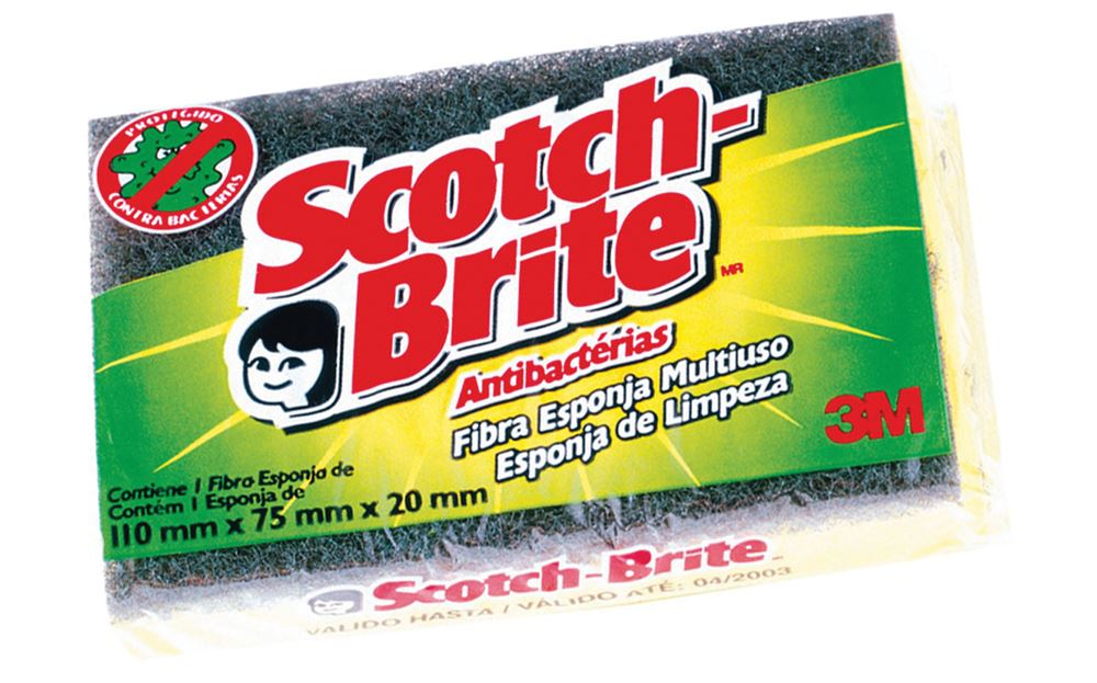 Esponja Dupla Face 3M Scotch-Brite - Unidade