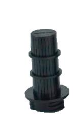 Extensão Drenante 77mm ABS Preto