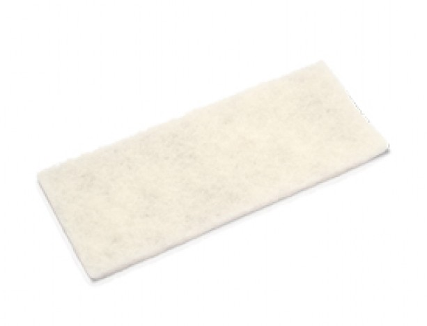 Fibra de Limpeza Branca 260x102 - Unidade