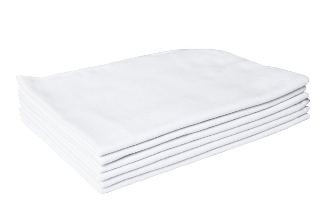 Flanela Grande Branca 40x60