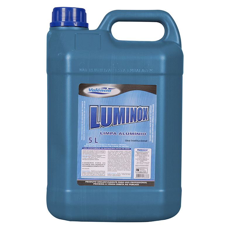 Limpa Alumínio Valência 5 Litros