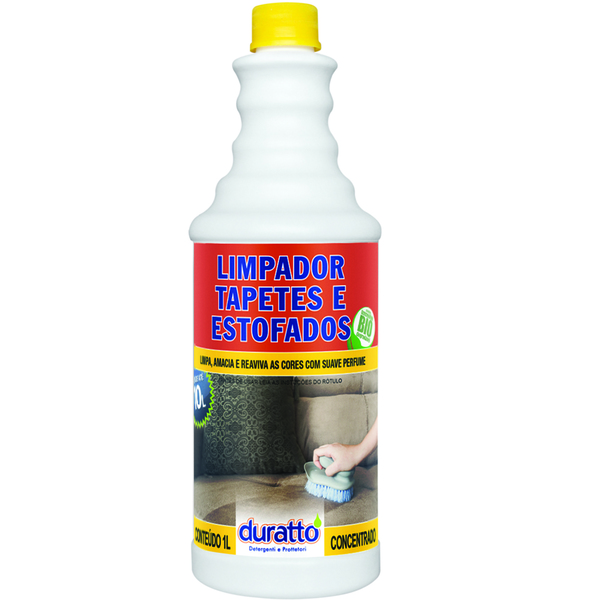 Limpador de Tapetes e Estofados Duratto 1 Litro