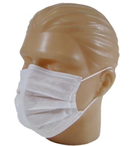 Máscara com Elástico Descartável