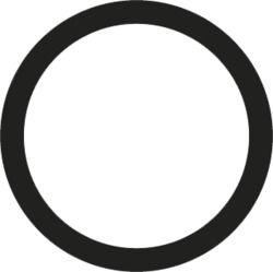 O'ring Buna N 1/16 x 3/16
