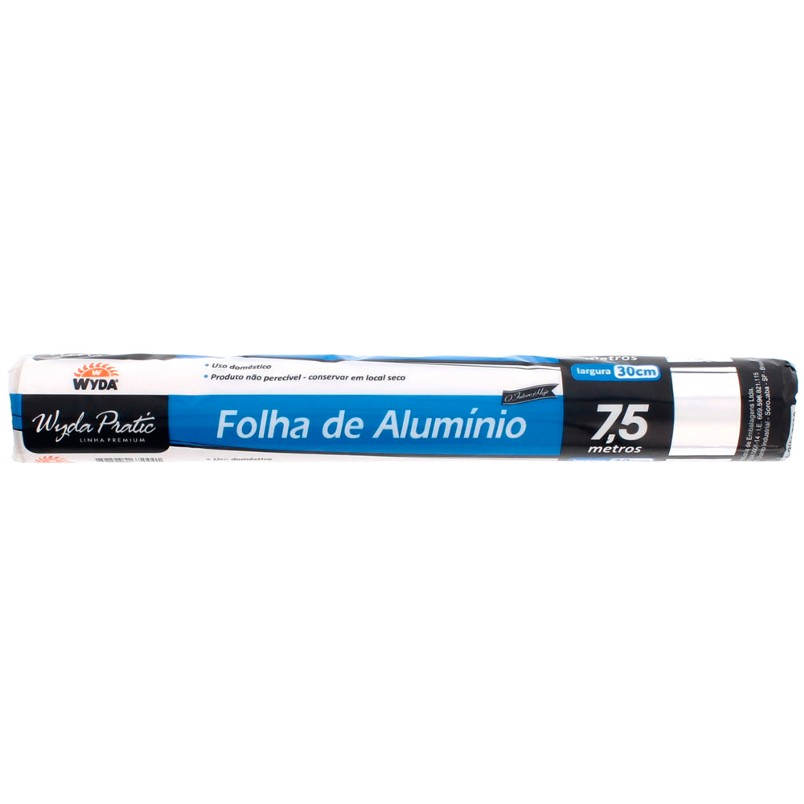 Papel Alumínio 30x7,5cm
