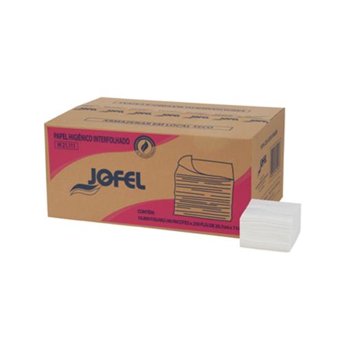 Papel Higiênico Cai cai com 10000 - Folha Simples Jofel
