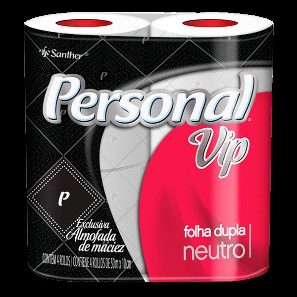 Papel Higiênico Personal Folha Dupla - 4 Unidades
