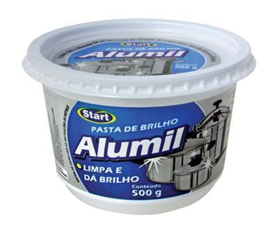 Pasta para Limpa Alumínio Start 500g