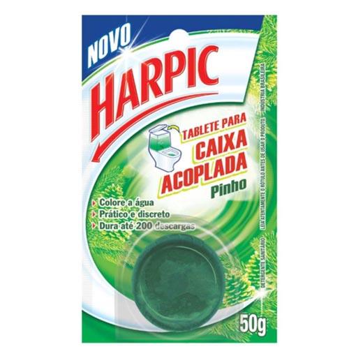 Pedra Sanitária Caixa Acoplada Harpic Pinho