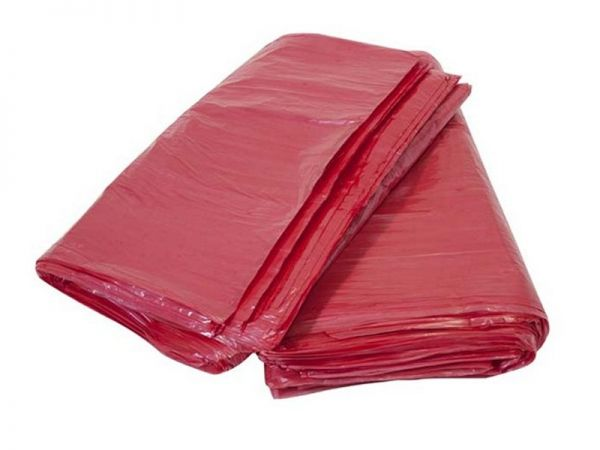 Saco para Lixo Vermelho 20 Litros BE13  - 100 Unidades