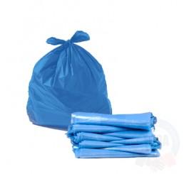 Saco para Lixo Azul 60 Litros BE23 - 100 Unidades