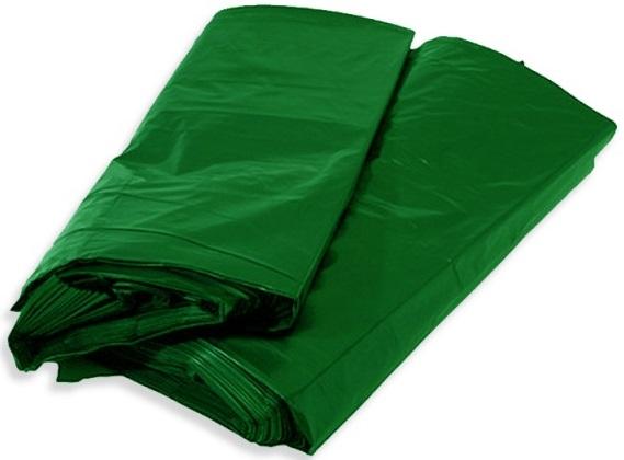 Saco para Lixo Verde BL8  - 100 Unidades