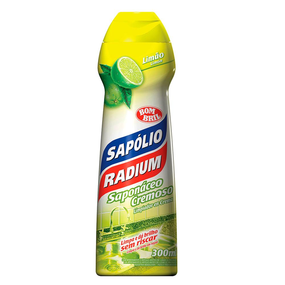 Sapólio Radium Cremoso Limão 300ml