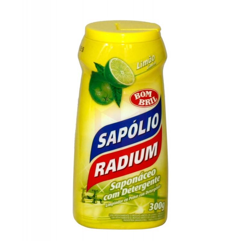 Sapólio Radium em Pó Limão 300g