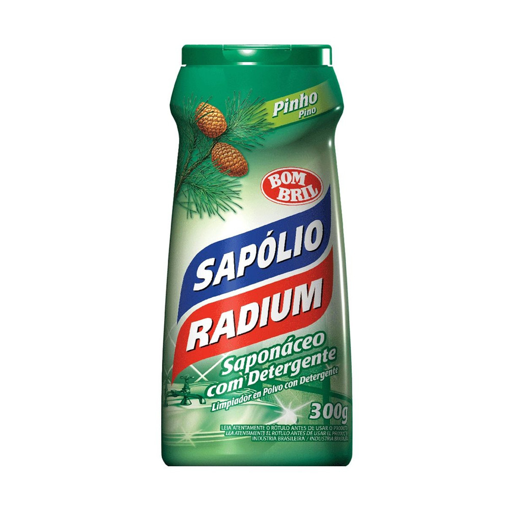 Sapólio Radium em Pó Pinho 300g