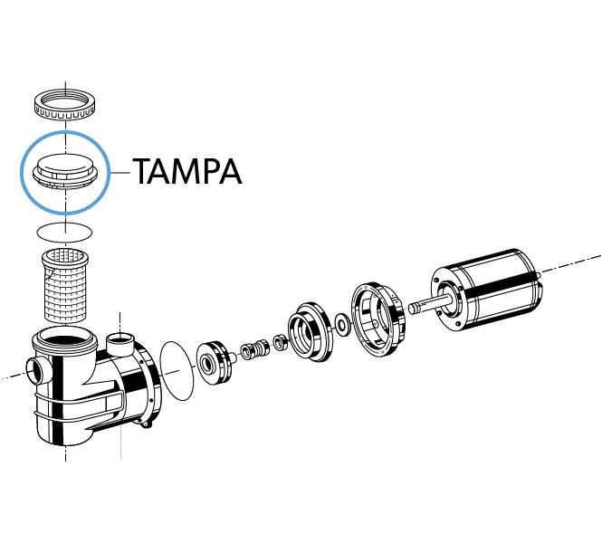 "Tampa Pré-Filtro ""A"""