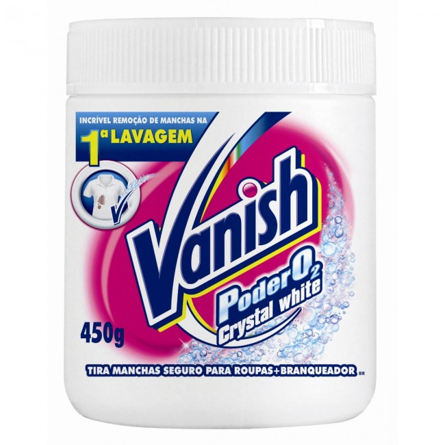 Vanish Pode O2 Crystal White 450g