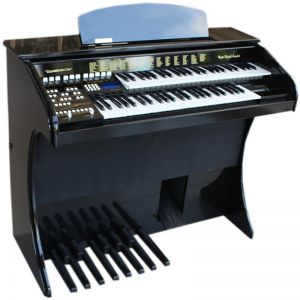 Órgão Acordes Série Gold Ax100 Preto - 49 Teclas