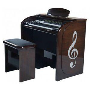 Órgão Digital Acordes AX100 Top Elegance Imbuia - 61 Teclas