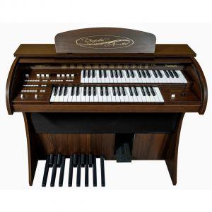 Órgão Eletrônico DIGITAL ACORDES - 2D Premium Marrom com 44 Teclas