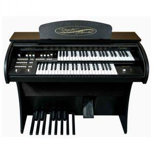 Órgão Eletrônico DIGITAL ACORDES - 2D Premium Preto com 44 Teclas