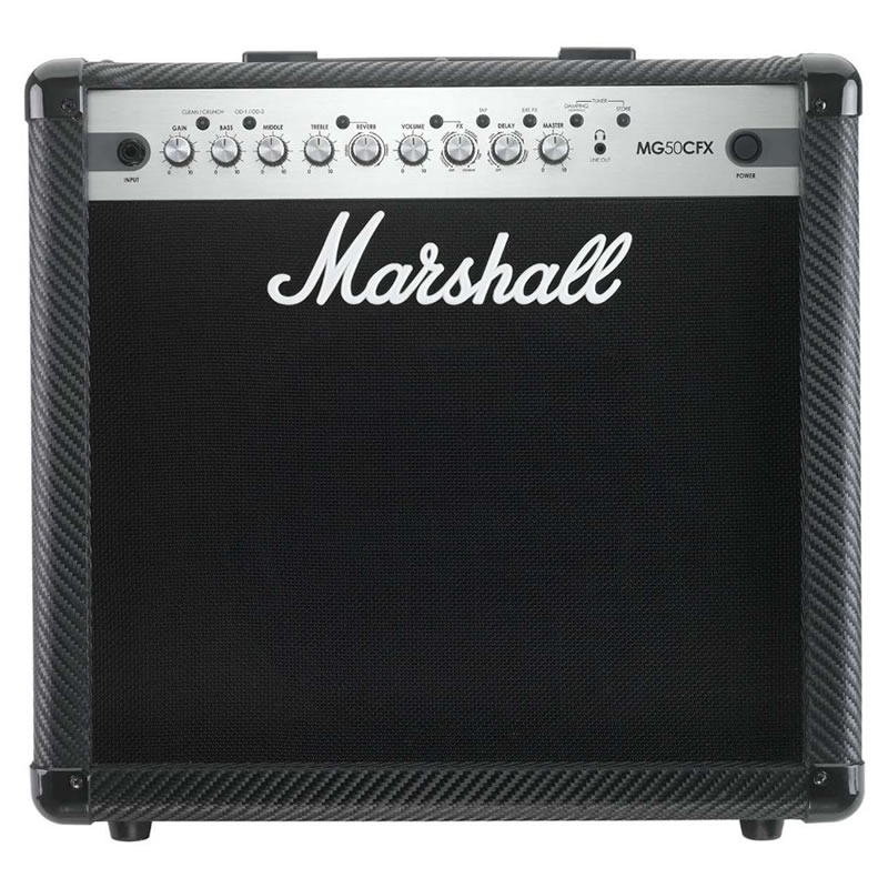 AMPLIFICADOR GUITARRA MARSHALL MG50CFX