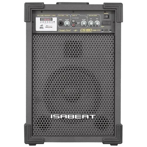 CAIXA ISABEAT CS180 USB/FM ATIVA