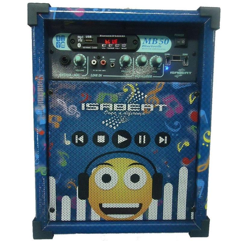 CAIXA ISABEAT MB50 USB/BT EMOTICONS