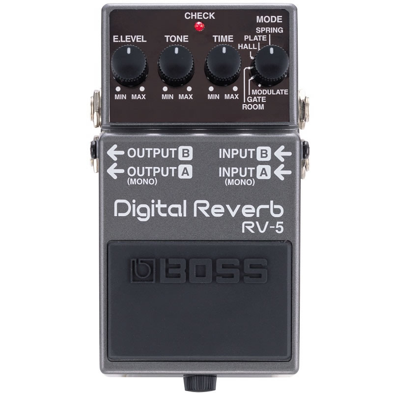 PEDAL BOSS DIGITAL REVERB RV5