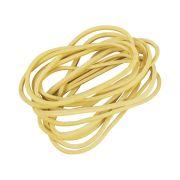 Elástico De Borracha  100g - Amarelo (Caixa 100 gramas)