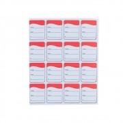 Etiqueta Tag - Vermelha (Pacote 1.000 unid)