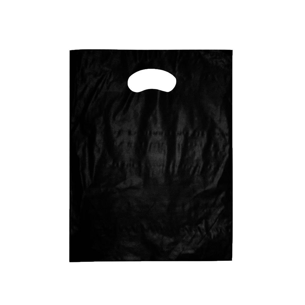 Sacola plástica Boca de Palhaço Lisa - Várias Cores - 30x40 -  PCT 500 unidades  (Espessura 07)