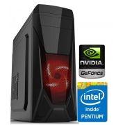 CPU GAMER HONOR - PLACA DE VIDEO GTX 1030  /PROCESSADOR PENTIUM INTEL G4560 / 8GB MEMORIA DDR4 /HD 1TB SATA /FONTE 500W PFC ATIVO