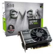 Placa de Vídeo EVGA GEFORCE GTX 1050 TI Gaming 4GB DDR5