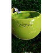 Vaso cores vivas verde