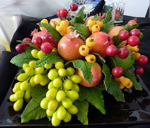 Arranjo natalino - Frutas - sob encomenda!