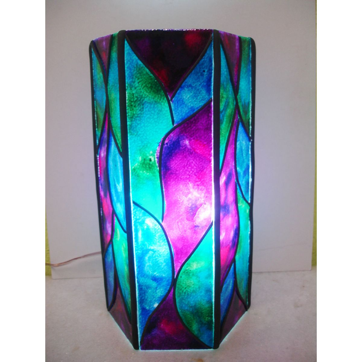Vitral Luminária
