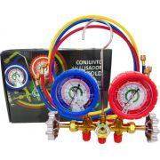 Manifold Analógico Ecotools ET661 para Sistemas de Refrigeração e Ar Condicionado R410a / R22 / R404a / R507a