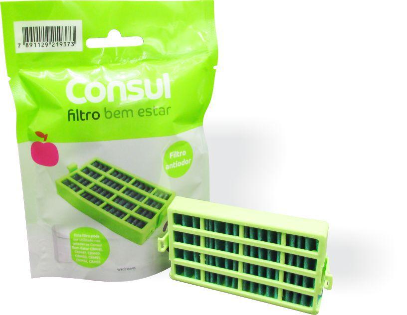 b38b7be150cb Filtro Refrigerador Consul Bem Estar - Desodorizador e Anti Bactéria  (CR801AX) - W10515645 Original ...