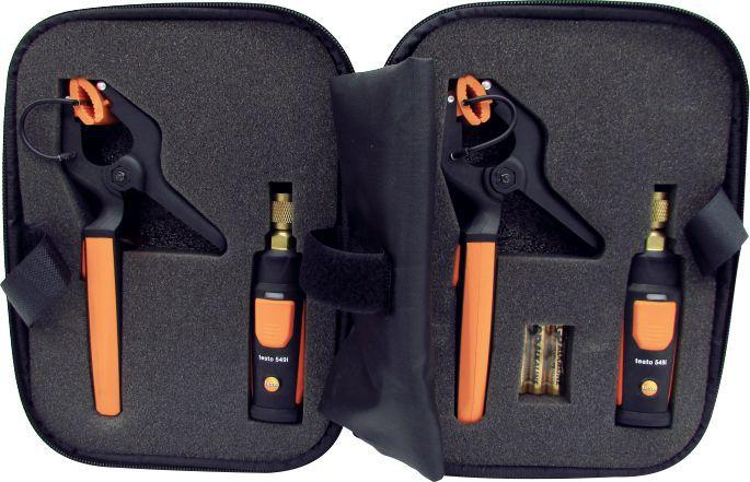 Kit Testo Smart Probes para Refrigeração Testo 549i e Testo 115i - Controle de Medições em Sistemas de Refrigeração