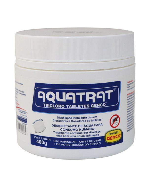 AQUATRAT TRICLORO TABLETES GENCO® | Pote com 400g
