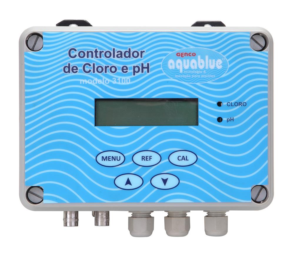 Controlador de Cloro e pH