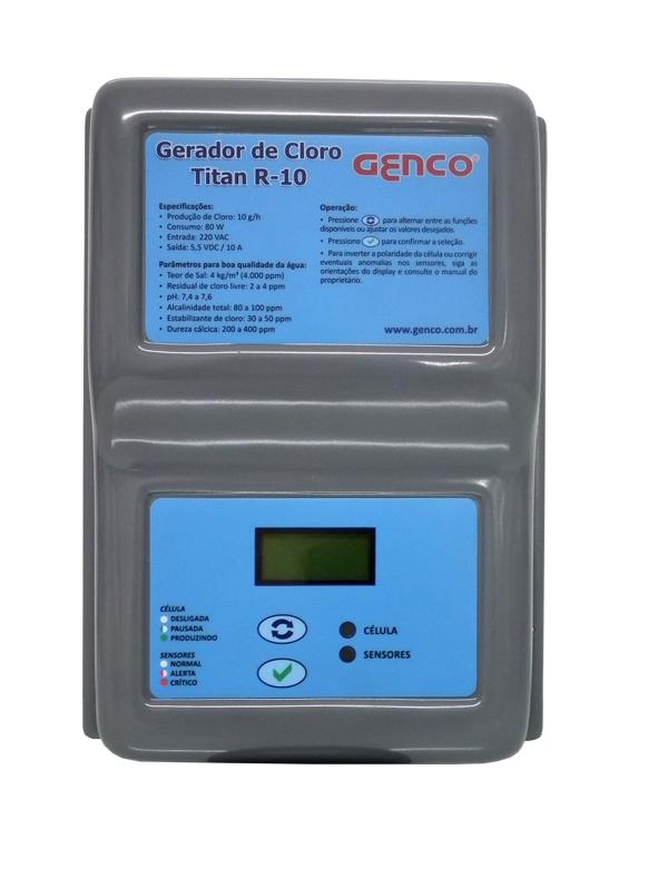 Gerador de Cloro Série Titan - Modelo R-10