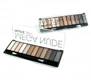 Paleta de Sombra Mega Nude 12 cores Nude