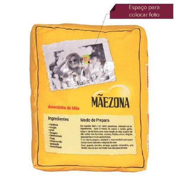 Almofada Personalizada Decorativa com Foto Mãezona