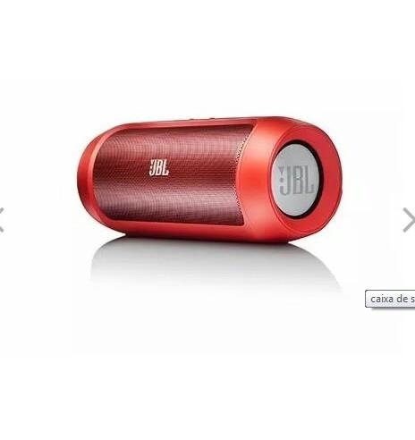 Caixa de Som Portátil JBL Charge 2+